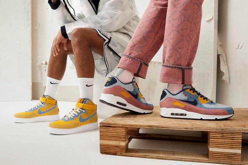 NIKE Levi's By You AIR FORCE 1 AIR MAX