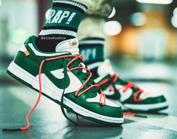 Off-White-Nike Dunk-Low-Green-CT0856-100-10