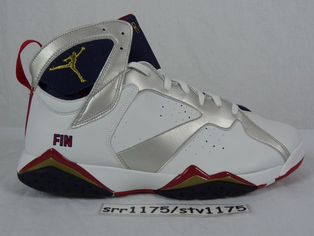 Air Jordan 7 Team USA Player Exclusive Sample Michael Finley PE