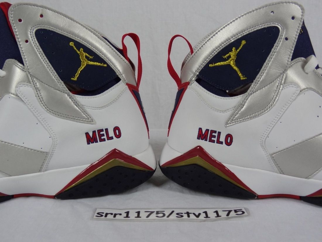 Air Jordan 7 Team USA Player Exclusive Samples Melo Carmelo Anthony PE