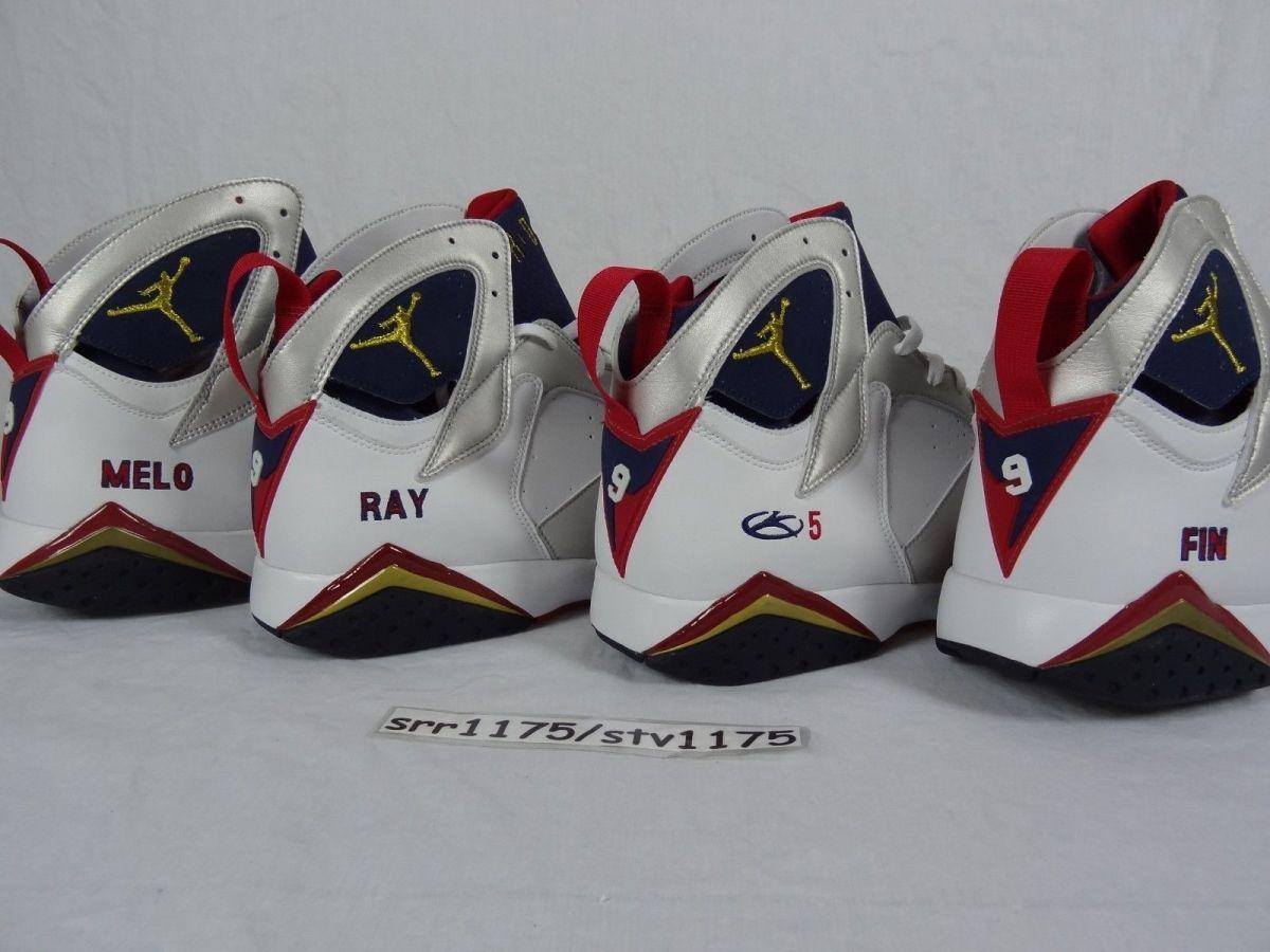 Air Jordan 7 Team USA Player Exclusive Samples