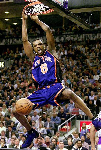 And 1 Tai Chi Latrell Sprewell New York Knicks PE Blue/Orange