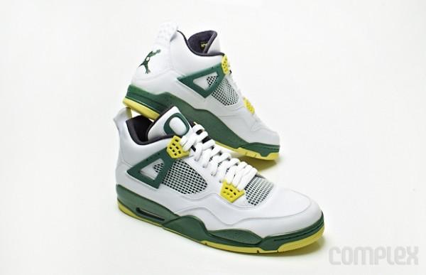 Air Jordan 4 Jumpduck - 10 Best Oregon Ducks Sneakers of All Time