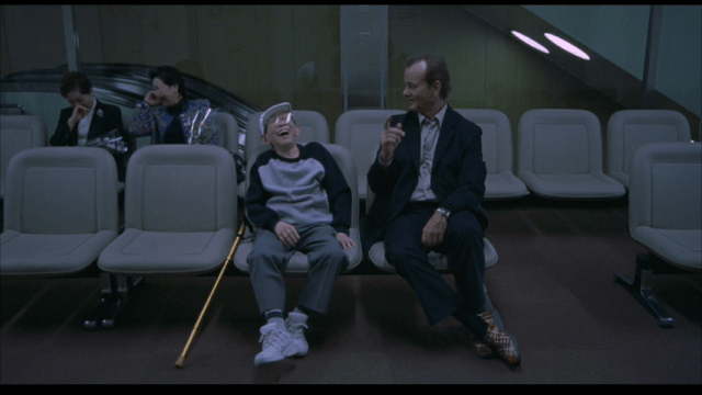 Bill Murray in Nike x HTM Air Woven in Lost in Translation