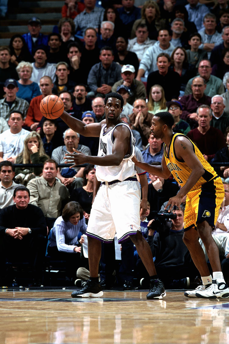 Chris Webber in Reebok Answer 3 January 5th, 2001