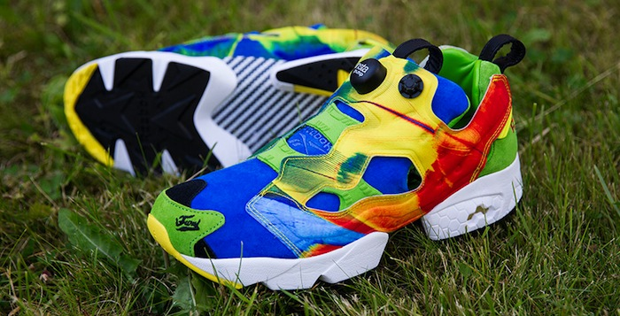 "Crooked Tongues x Reebok Instapump Fury ""Angry Bird"""