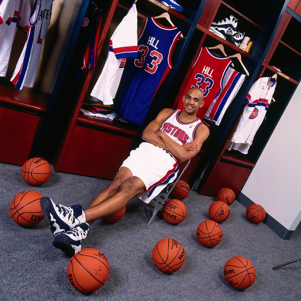 Grant Hill in FILA Grant Hill