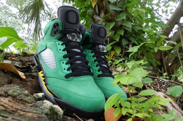Air Jordan 5 Oregon - 10 Best Oregon Ducks Sneakers of All Time