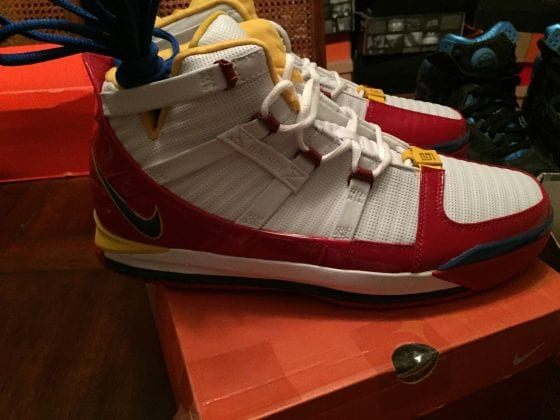 Nike LeBron 3 Superman Alternative Colorway