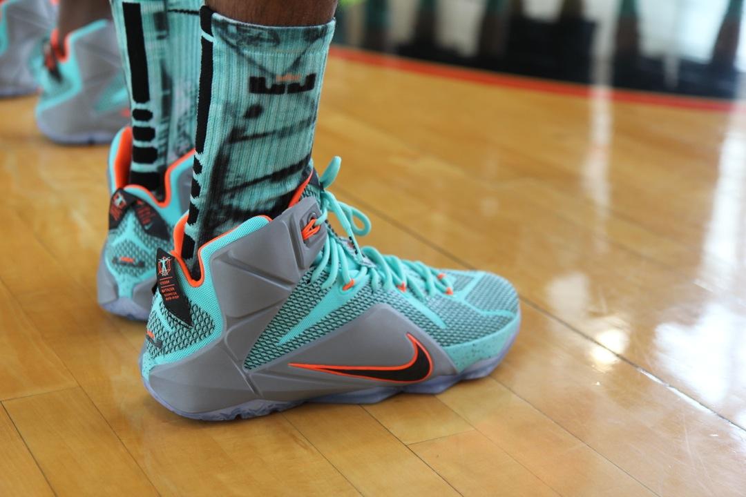 Nike LeBron 12 Launch