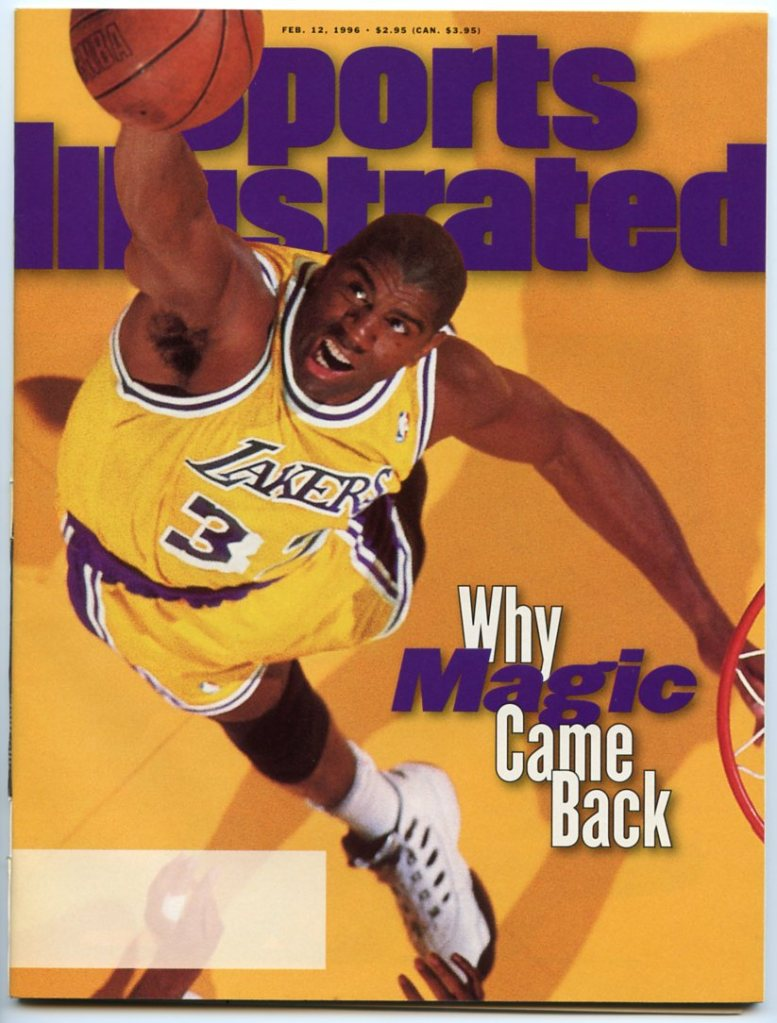 Magic Johnson Sports Illustrated Cover