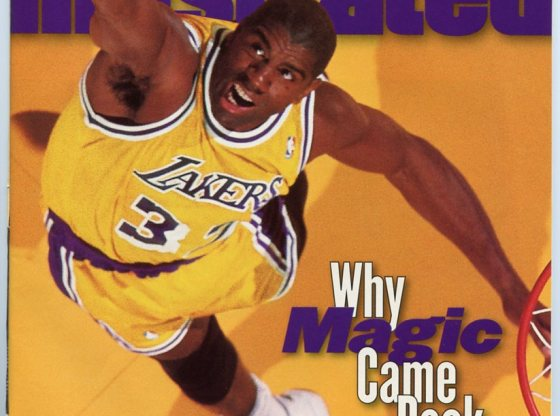 Magic Johnson Sports Illustrated Cover