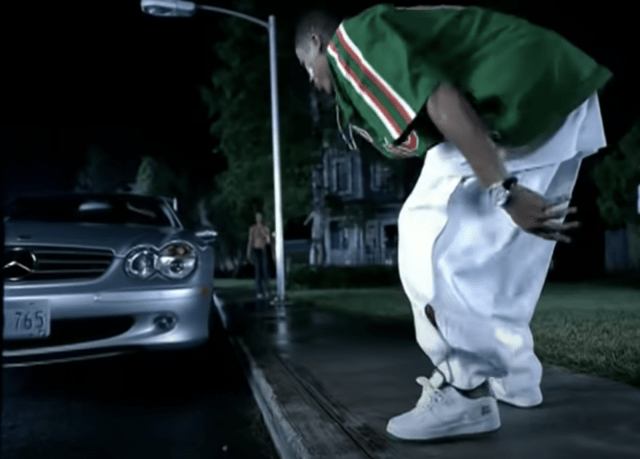 Nelly wearing West Indies Nike Air Force 1 - Dilemma Video