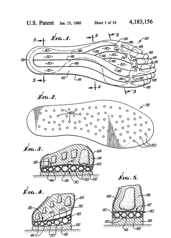 Nike Air Patent