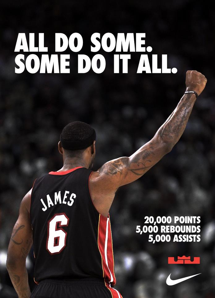 Nike LeBron 20k Points 5k Assists 5k Rebounds