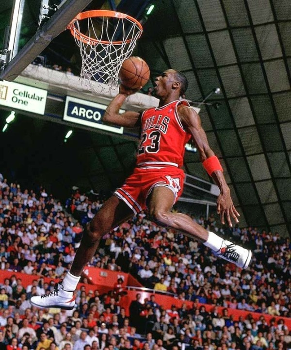 1987 Michael Jordan in Air Jordan II
