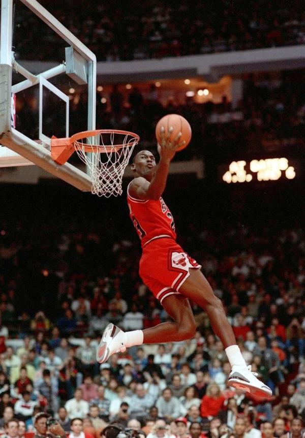 1988 Michael Jordan in Air Jordan III