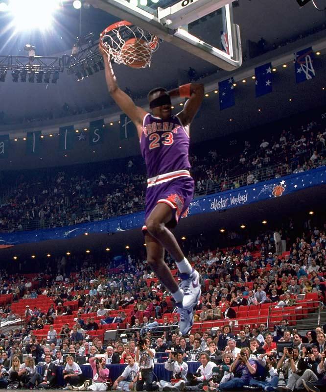 1992 Cedric Ceballos in Nike Air Bound