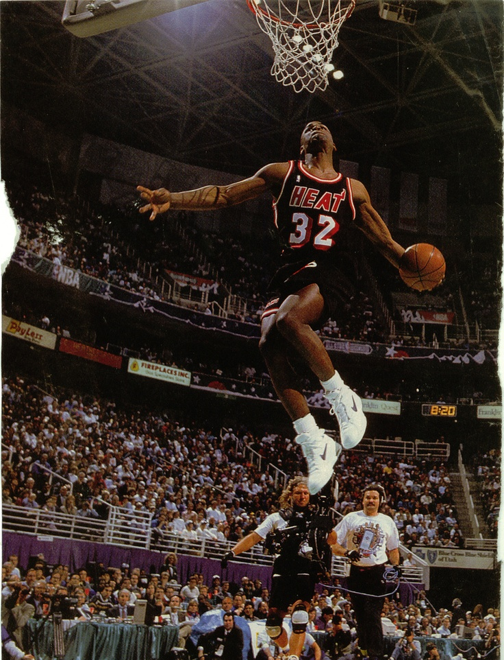 1993 Harold Miner in Nike Air Dynamic Flight