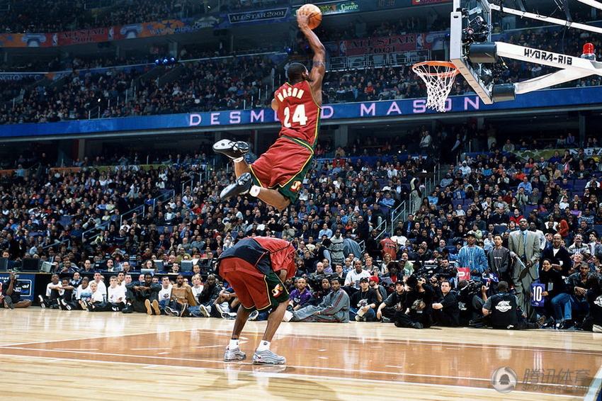 2001 Desmond Mason in AND1 Mad Game