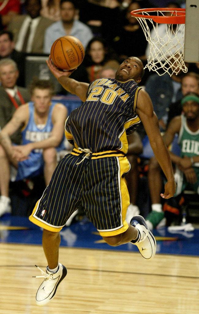 2004 Fred Jones in Air Jordan Nu Retro 2