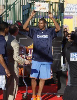Kevin Durant 2009 H.O.R.S.E. Champion