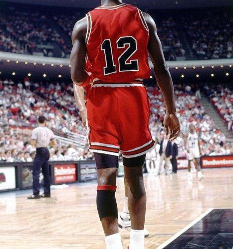 "Michael Jordan #12 Air Jordan 5 ""Fire Red"""