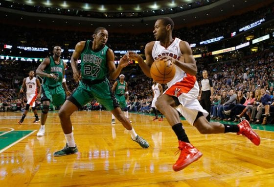 Terrence Ross in the Nike LeBron 11 PE