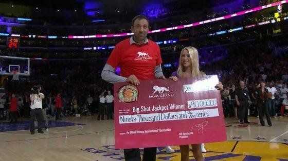 Vlade Divac donates $90k to charity. Photo via NBA