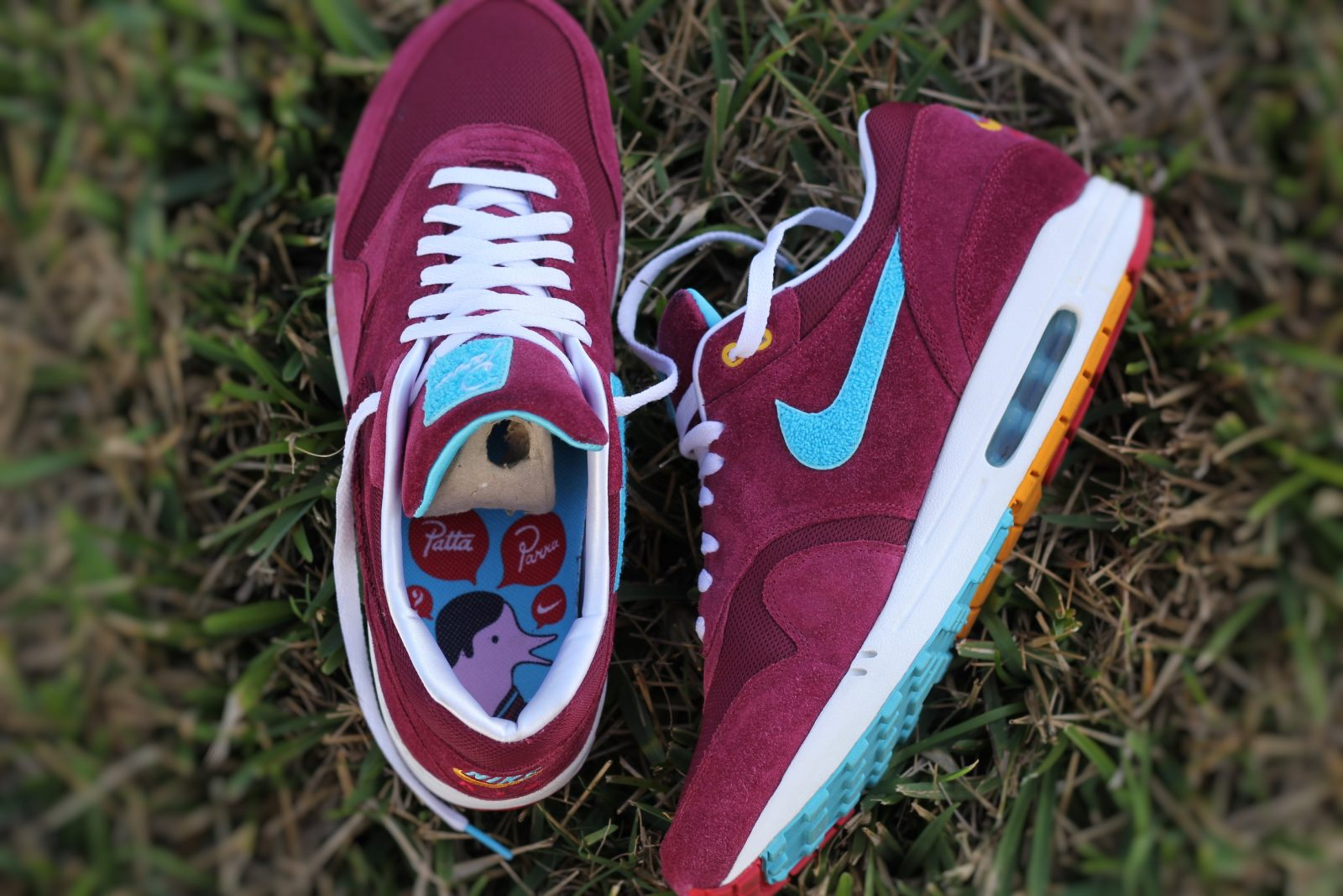 new concept c6a22 2b7ab The 5 Year Anniversary of the Parra x Patta Nike Air Max 1 - Sneaker ...