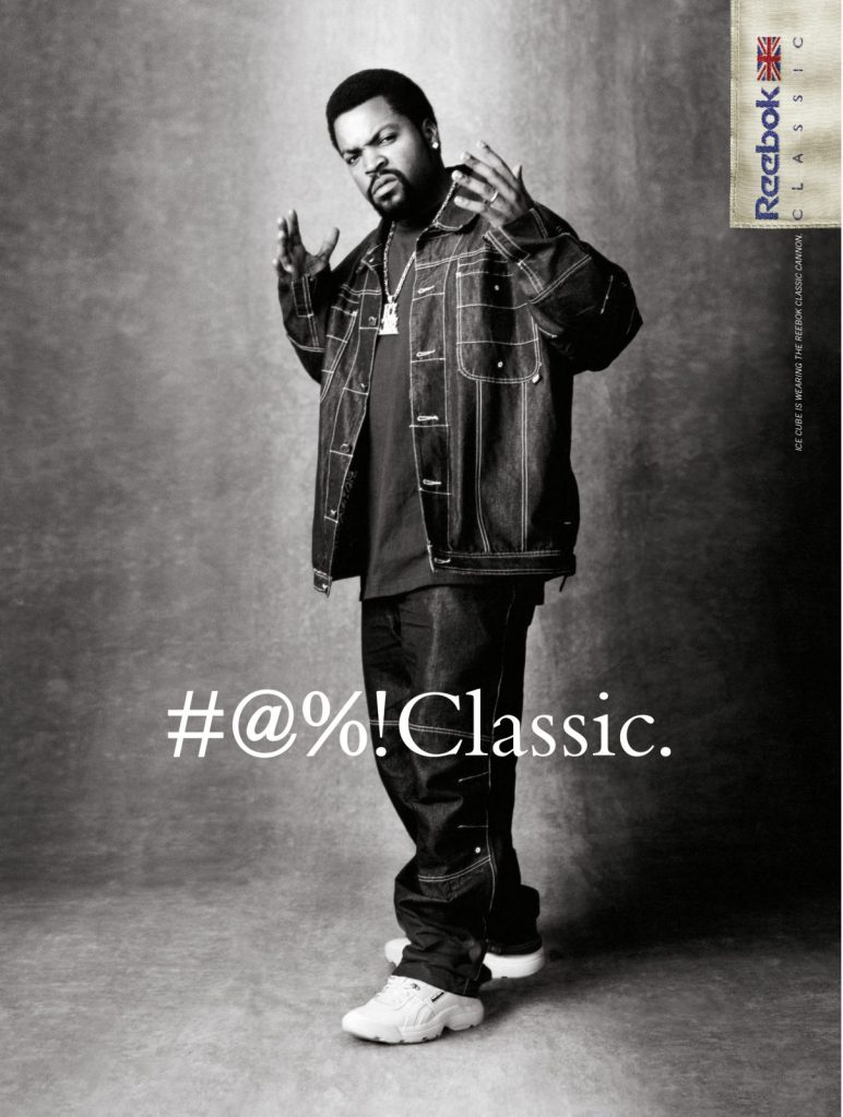 Ice Cube for Reebok Classics Cannon 2001