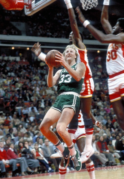 On This Day in 1985 Larry Bird scored