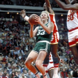 Larry Bird in Converse Pro Leather