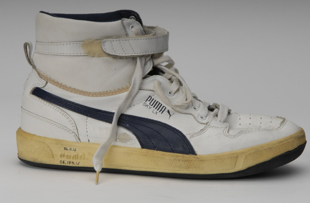 Alex English's PUMA Sky Hi via of SI