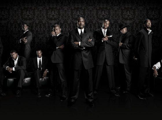 Team Jordan players (MIke Bibby, Joe Johnson, Michael Finley, Josh Howard, Chris Paul, Michael Jordan, Carmelo Anthony, Quentin Richardson, Richard Hamilton, Ray Allen) (photo cred: Nike/Jordan Brand)