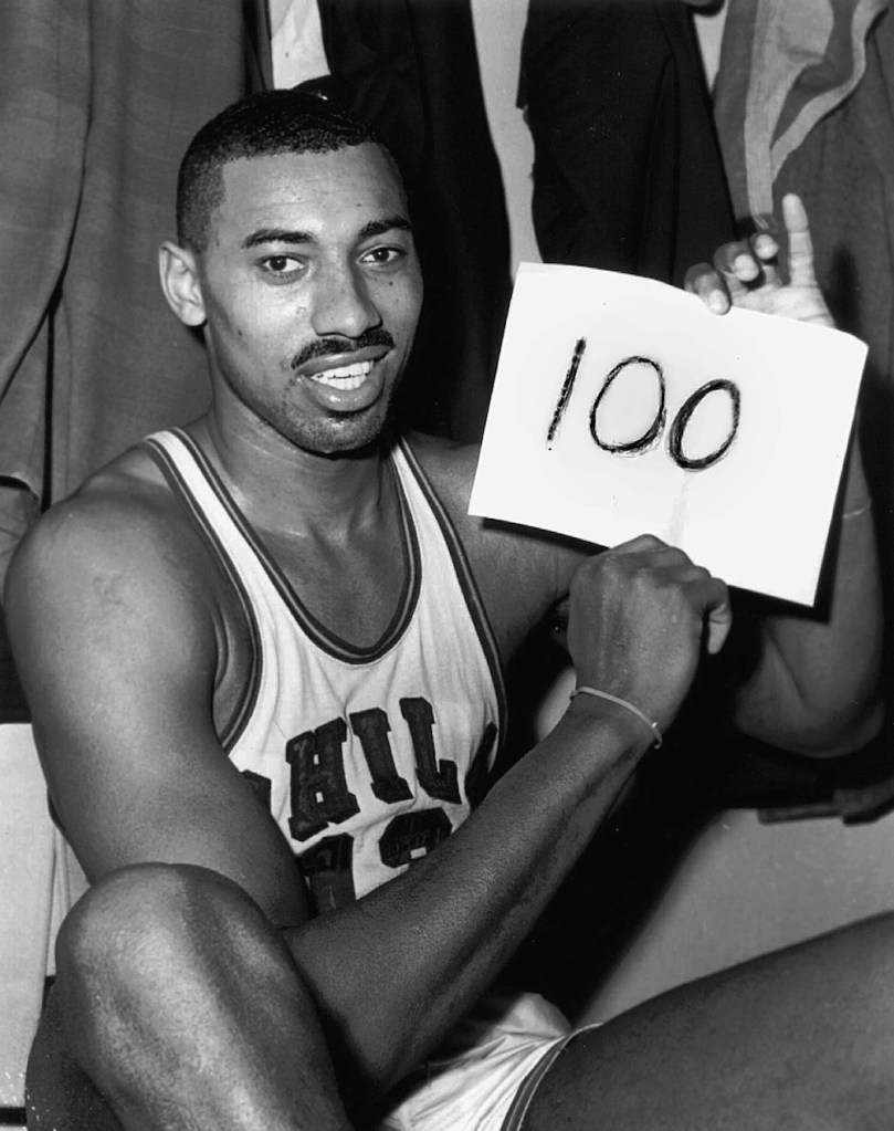 Wilt Chamerlain 100-Point Game