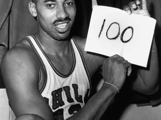 Wilt Chamerlain 100-Point Game