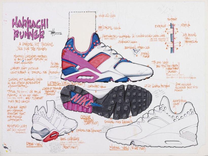 Nike Air Huarache Sketch