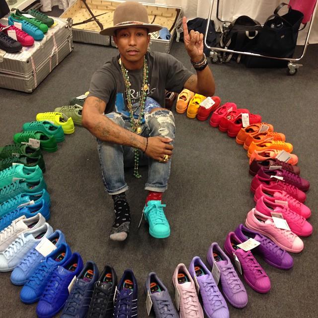 adidas Superstar Circle Pharrell WIlliams