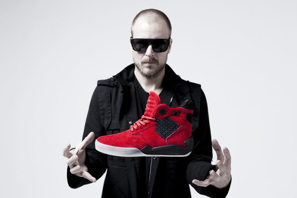 Chad Muska with Supra Skytop IV