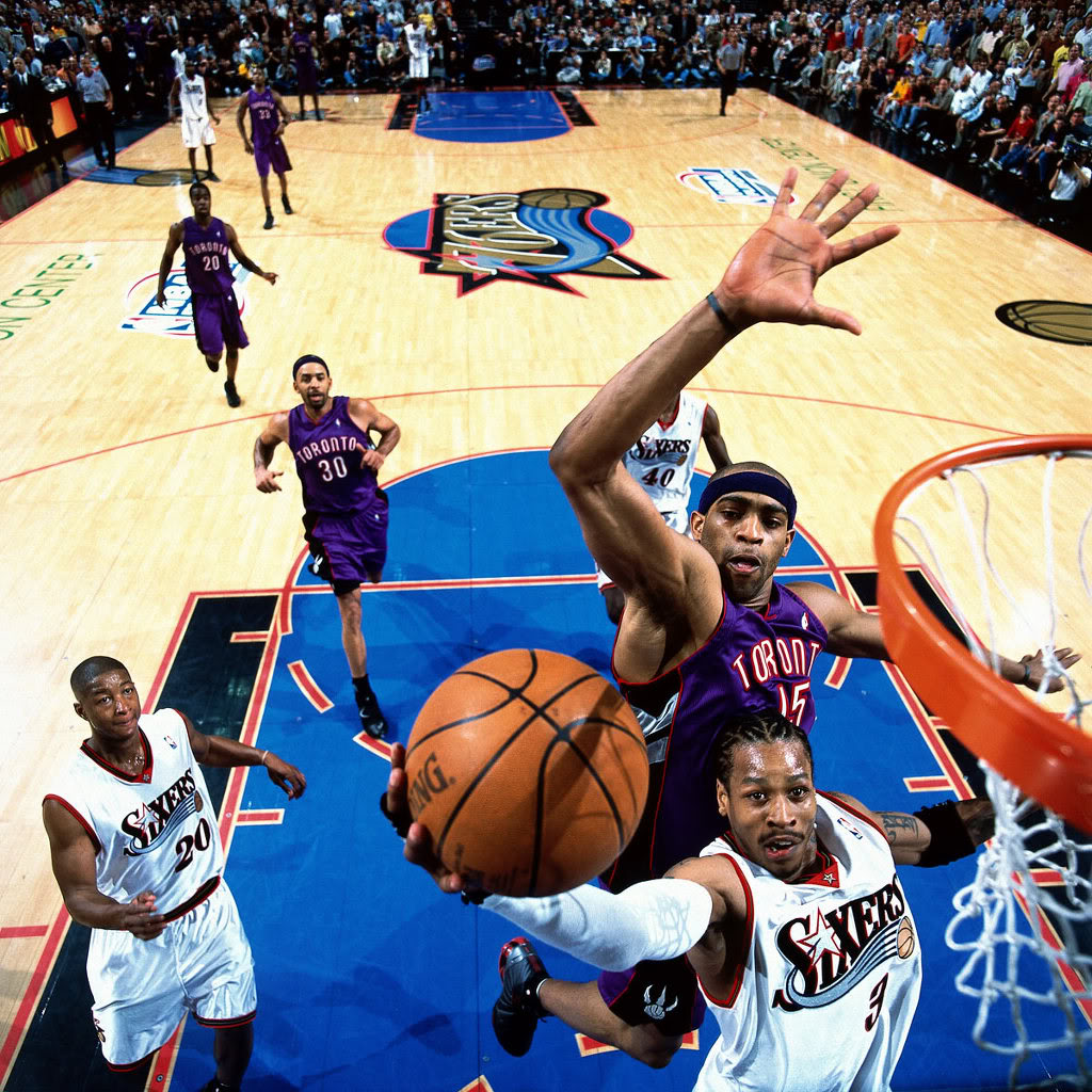 Vince Carter in Nike Shox BB4