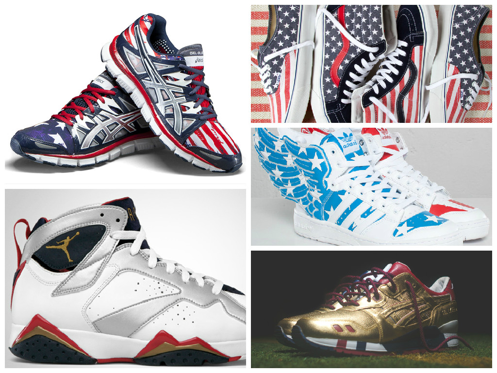 Patriotic Sneakers USA