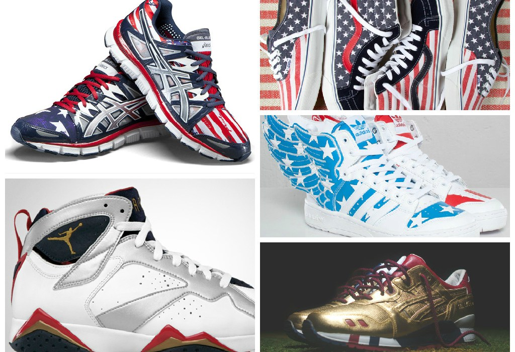 "15 ""Patriotic"" Sneakers to Wear This Weekend"