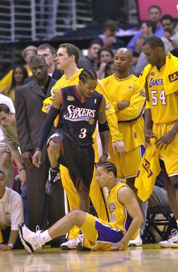 Allen Iverson Greatest Sneaker Moments: The Step Over 2001 NBA Finals