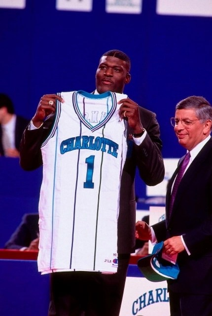 larry johnson draft day