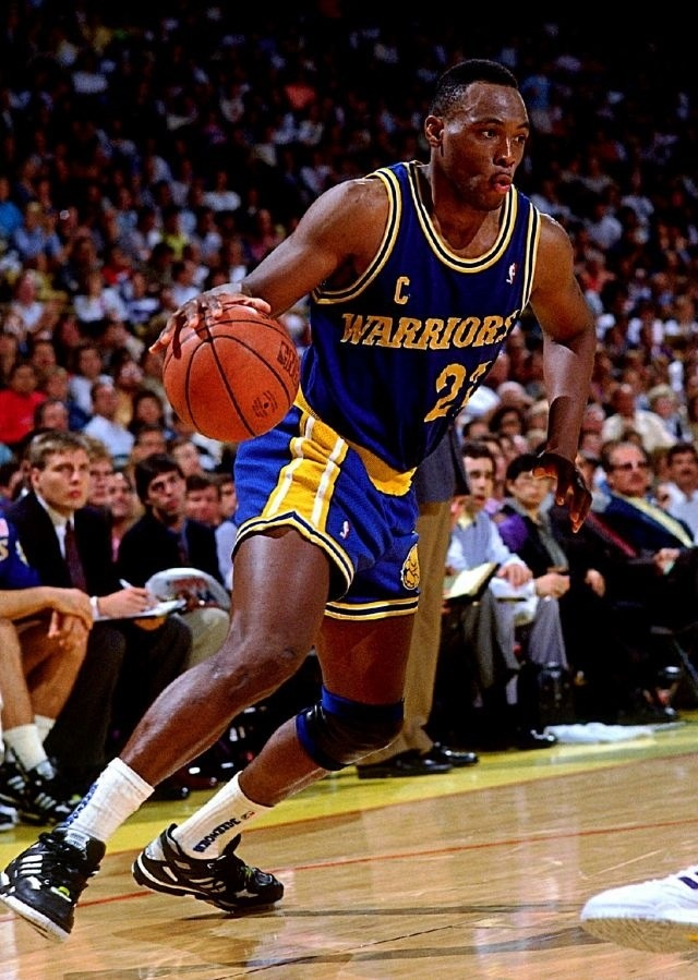 Mitch Richmond in adidas Torsion Artillery