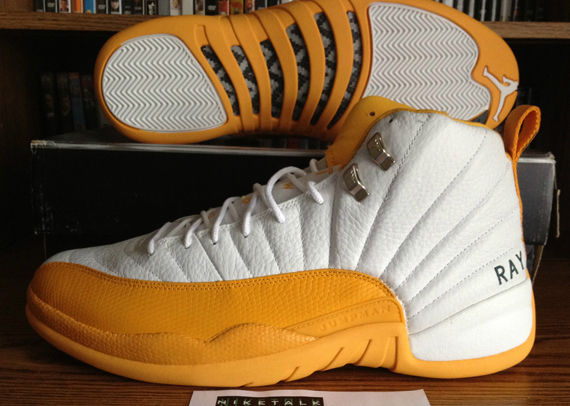 Ray Allen Jordan PEs: Air Jordan 12 Alternate Seattle Sonics Player Exclusive