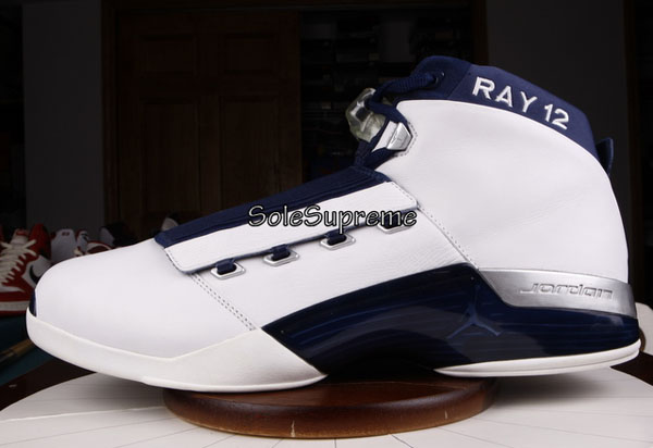 Ray Allen Jordan PEs: Air Jordan 17 Olympic FIBA Player Exclusive