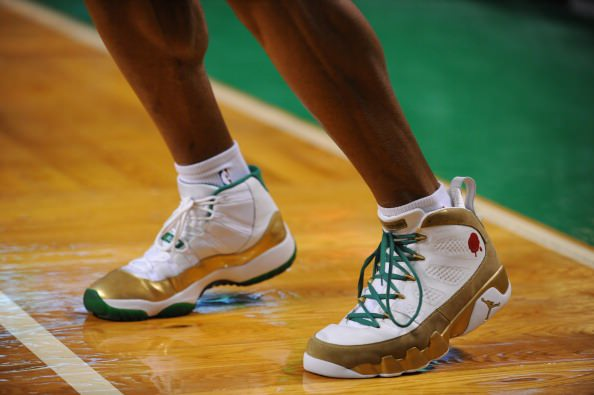 Ray Allen Jordan PEs: Air Jordan 9/Air Jordan 11 Two Rings
