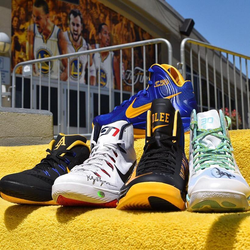 Golden State Warriors Nike Basketball PEs by @acervan316